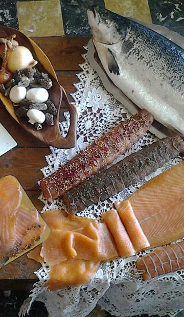Vente de spécialités au saumon près de Douai